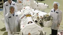 Canada's space industry, which employs 8,000 people, generates revenues of $3.3-billion annually. (NATHAN DENETTE/THE CANADIAN PRESS)