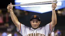 Melky Cabrera of the San Francisco Giants (Associated Press)