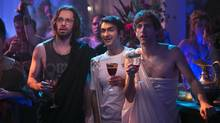 Silicon Valley episode 4: Martin Starr, Kumail Nanjiani, Thomas Middleditch. (Jaimie Trueblood/HBO)