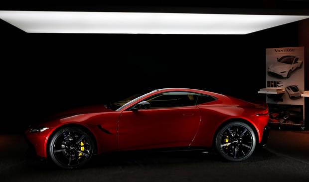 Aston Martin Unveils Revamped 2019 Vantage The Globe And Mail