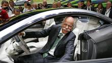 Daimer CEO Dieter Zetsche is confident that driverless software will eventually come to less expensive cars. (RALPH ORLOWSKI/REUTERS)