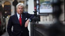 Ken Follett in London (Randy Quan/The Globe and Mail)