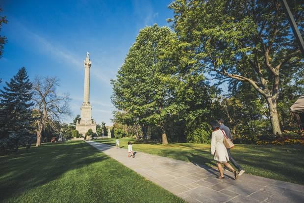 Brock Monument, Queenston.