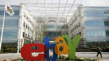 The headquarters of eBay in San Jose, Calif. (ROBERT GALBRAITH/REUTERS/ROBERT GALBRAITH/REUTERS)
