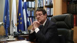 Right-wing leader Anastasiades wins Cyprus presidency: exit polls