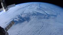 Newfoundland and Labrador, shot without zoom, is shown in a photo posted on Twitter on Jan. 7, 2013 by Canadian astronaut Chris Hadfield. (Chris Hadfield/THE CANADIAN PRESS)