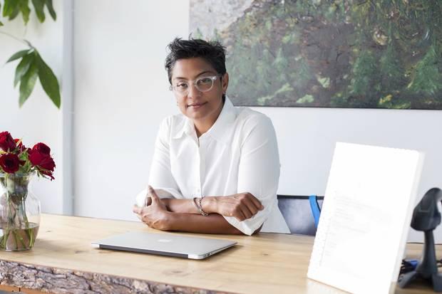 Salimah Kassim-Lakha, 46. Toronto. Entrepreneur, yoga centre owner, yoga therapist. Canadian.