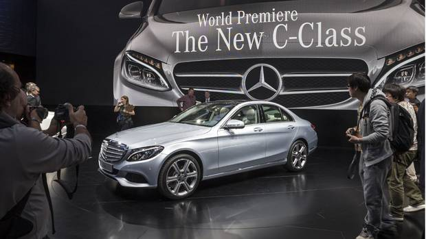 The chief of design at Mercedes-Benz, Gorden Wagener, refers to the look of the new C-Class, which made its debut at the Detroit auto show, as Sensual Clarity (Mercedes-Benz)