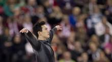 While countries might be reluctant to wear out their stars in the team competition, Patrick Chan says the thought of not being part of Canada's lineup has never crossed his mind. (Adrian Wyld/THE CANADIAN PRESS)