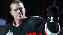Ottawa Senators' Chris Neil hopes he will not be suspended for his hit on New York's Brian Boyle during Saturday's playoff game at Madison Square Garden. THE CANADIANPRESS/Fred Chartrand (Fred Chartrand/CP)