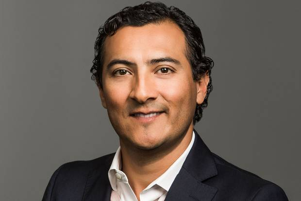 Josue Estrada, senior vice-president marketing and industry solutions at Salesforce: the company has seen a spike in pro bono volunteering hours from its employees, using their software skills to help non-profits implement various technologies.