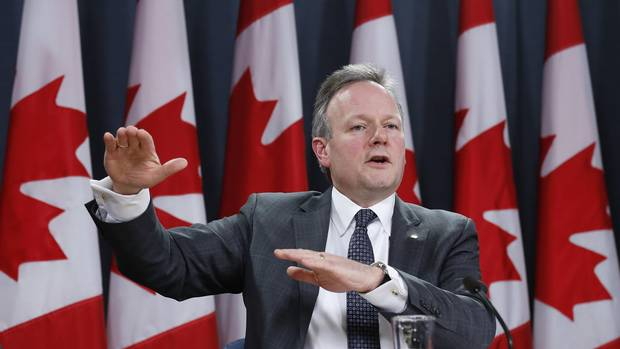 Bank of Canada Governor Stephen Poloz speaks during a news conference upon the release of the Monetary Policy Report in Ottawa January 22, 2014. Mr. Poloz scheduled to make rate announcement on Wednesday. (Chris Wattie/Reuters)