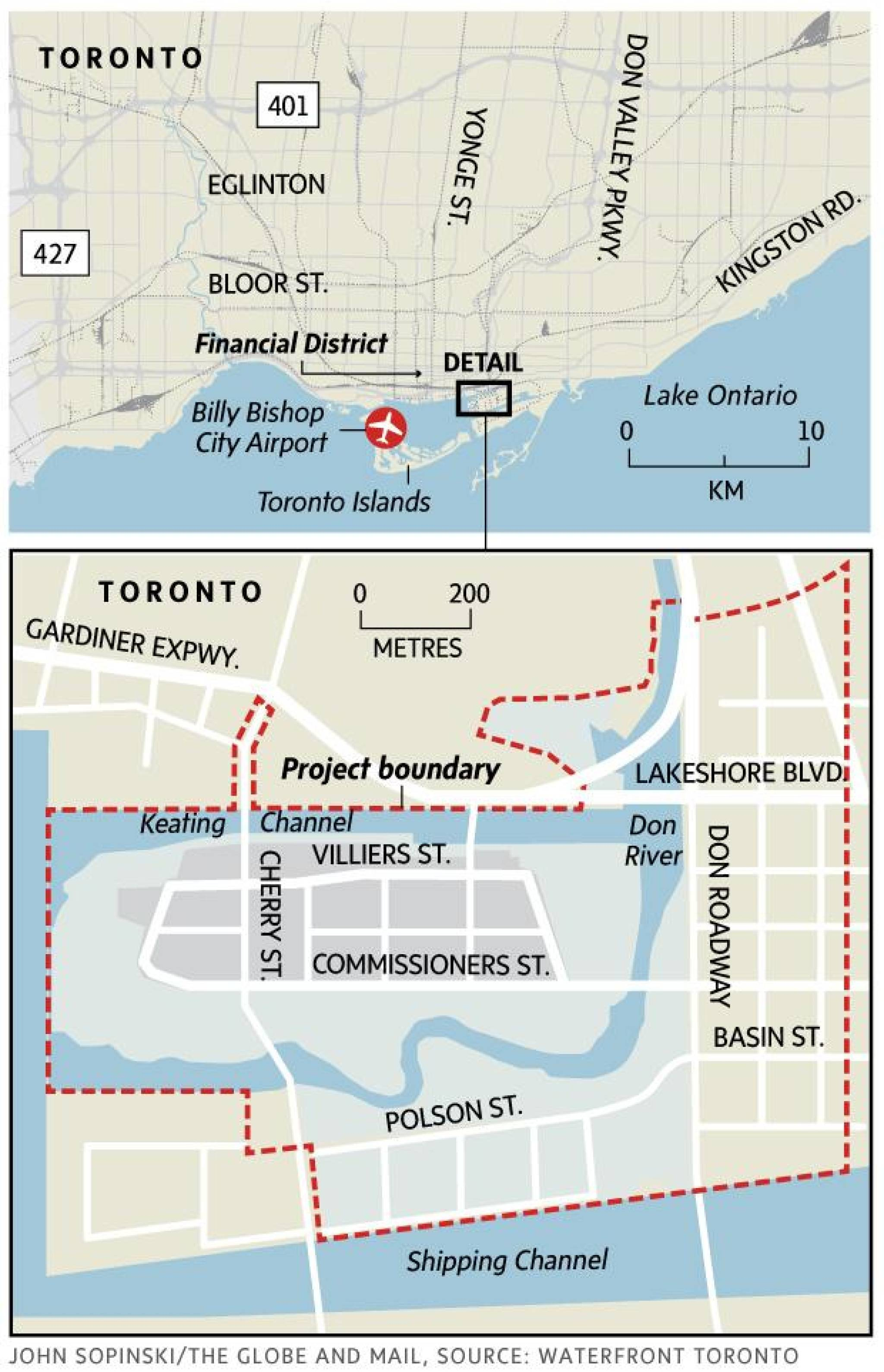On the waterfront, Toronto\'s next great park takes shape - The Globe ...