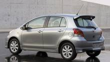 2010 Toyota Yaris. (Toyota)