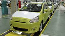 The Mitsubishi Mirage is being built in Thailand. (Mitsubishi)