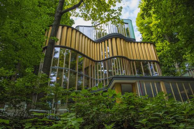 James Stewartu0027s Integral House In Toronto Is Shown In August, 2014, Before  Mr.