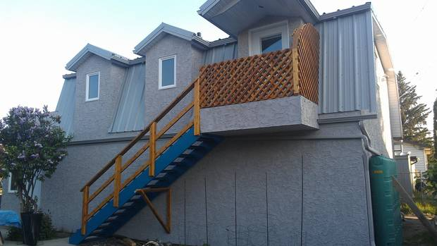 Dave Soutar's garage suite in Edmonton.