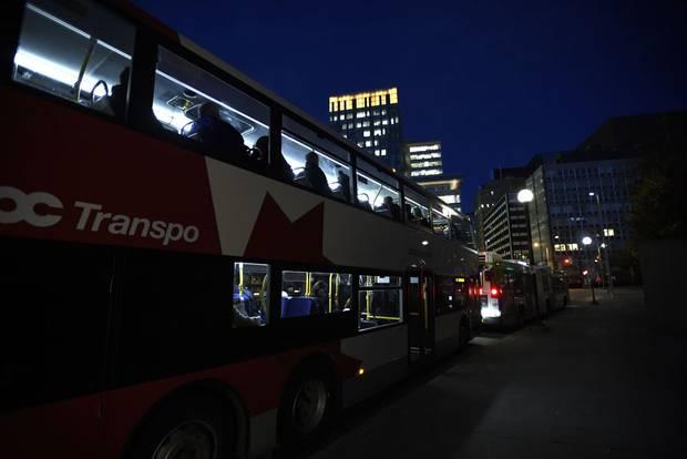Ottawa's OC Transo busses.