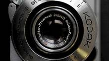 A Kodak Retina camera is seen in a photo store in London Jan. 19, 2012. (Stefan Wermuth/Reuters/Stefan Wermuth/Reuters)