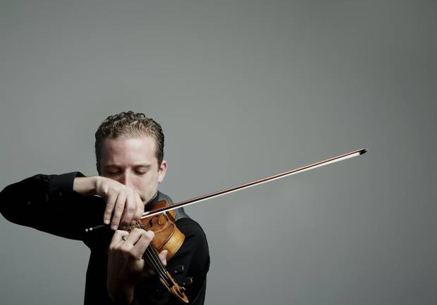 Violinist Benjamin Bowman was recently appointed concertmaster of the Metropolitan Opera Orchestra in New York.