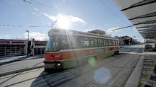 St. Clair LRT. (Fred Lum/The Globe and Mail/Fred Lum/The Globe and Mail)