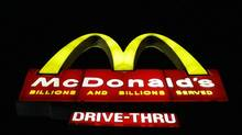 "McDonald's famed ""golden arches."" (Charles Rex Arbogast/The Associated Press)"