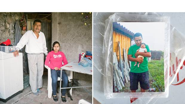 Victor Tepec Velez searches each week - alongside his teenage daughter Guadalupe – for his son Jesus, who was 29 when he disappeared in 2014: 'I'm glad every time that we find a body,' he says, 'because, if it's not my son, at least I can help one of the companeros find theirs.'