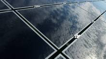 Solar panel manufacturer First Solar manufacturer is consolidating production in fewer facilities in the face of ongoing weak demand in Europe. (Dave Chidley/The Canadian Press/Dave Chidley/The Canadian Press)