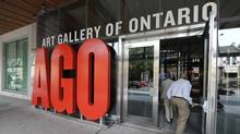 As of 12:01 a.m. Friday, 350 workers at the Art Gallery of Ontario are in a legal position to strike. (Fred Lum/The Globe and Mail)