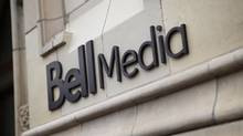 The Bell Media logo is displayed on a building in Toronto. (DARREN GOLDSTEIN/THE CANADIAN PRESS)