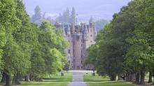 Glamis Castle, Tayside, Scotland. (photolibrary.com)