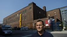 Dori Segal, CEO of First Capital Realty, is pictured in Toronto's Liberty Village neighbourhood, the location of his company's head office, in October, 2007. Mr. Segal believes a proposed nearby casino development would kill the neighbourhood he's watched mature over the past decade. (Fred Lum/The Globe and Mail)