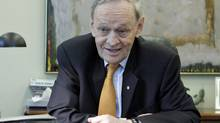 Former prime minister Jean Chrétien gives an interview at his Ottawa office on April 16, 2012. (FRED CHARTRAND/Fred Chartrand/The Canadian Press)