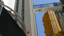Bay Street rolls on despite market storm (DEBORAH BAIC/DEBORAH BAIC/THE GLOBE AND MAIL)