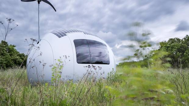 Could you sleep, eat, work and bathe in 86 square feet? Introducing the Ecocapsule