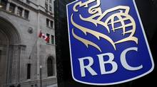 A Royal Bank of Canada (RBC) logo is seen at a branch in Toronto November 9, 2007. (Mark Blinch/Reuters/Mark Blinch/Reuters)