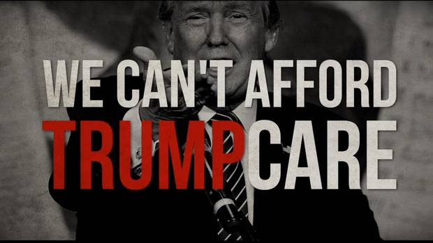 A super PAC (political action committee) backing Senator Ted Cruz targets billionaire businessman and Republican presidential candidate Donald Trump in this TV attack ad.