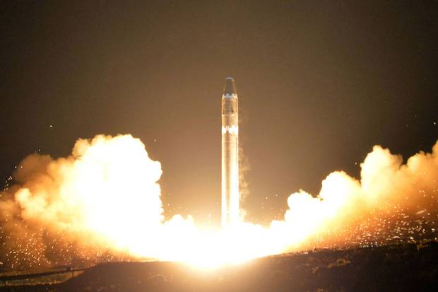 Nov. 29, 2017: North Korea tests the Hwasong-15 intercontinental ballistic missile, which it boasts can reach anywhere in the continental United States (and, by extension, Canada). But it's unclear whether the missile can carry a nuclear warhead and, if so, whether its effective range would be smaller.