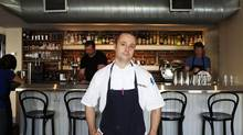 Chef Patrick Kriss at the restaurant Acadia in Toronto (Della Rollins for The Globe and Mail)