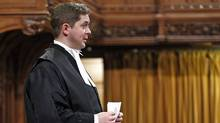Speaker Andrew Scheer addresses the House of Commons on Dec. 15, 2011. (CHRIS WATTIE/Chris Wattie/Reuters)