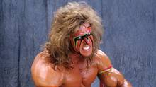 WWE wrestler Ultimate Warrior.