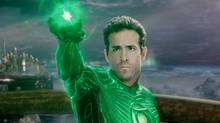 Ryan Reynolds as Green Lantern in Warner Bros. Pictures' action adventure of the same name. (Warner Bros. Pictures)