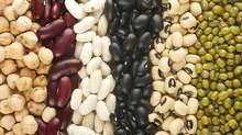 Kidney, mung, chickpea, black eye and preto beans. (galaiko sergey/iStockphoto)