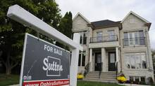A home for sale in Toronto. (Fred Lum/Fred Lum/The Globe and Mail)