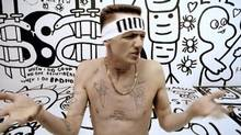 Frame grab from a Die Antwoord video