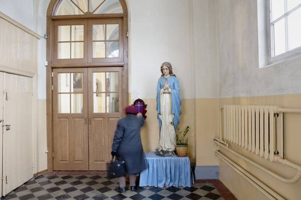 St. Peter in Chains Roman Catholic Church in Daugavpils. In heavily Russified Latgale, many cheered on Vladimir Putin's actions in Ukraine for what they saw as the Russian President standing up for the rights of Russian-speakers abroad.