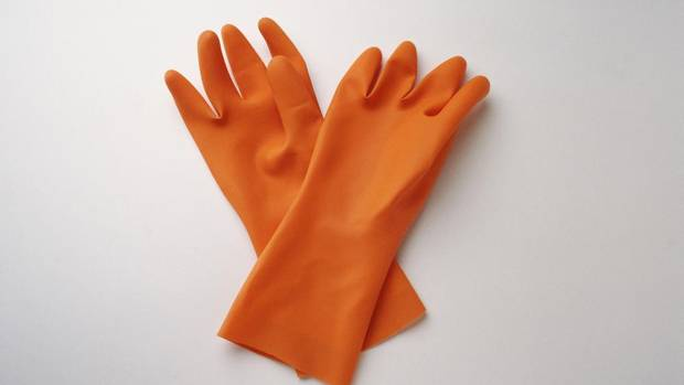 You forget (or skip) the rubber gloves — 'When using harsh cleaners, we strongly recommend the use of gloves to protect the hands from chemical burns and from irritation,' says Dr, Benjamin Barankin, Toronto dermatologist and Medical Director of Toronto Dermatology Centre. However, there is hope if you've been cleaning your home gloves-free. Even though these chemicals strip the natural oils and damage the uppermost layers of the skin, Barankin says 'our skin is resilient and blocks most toxic chemicals, especially if the hands are properly rinsed after.' (©PHOTODISC)
