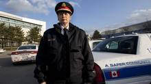 Peel Regional Police Chief Jennifer Evans in Brampton this week. (Deborah Baic/The Globe and Mail)