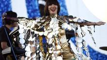 Karen O at the 2009 Coachella Music Festival. (Mario Anzuoni / Reuters)