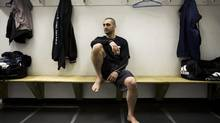 'It might be a better thing [to be a trainer]. The fighter's lifestyle isn't for everybody …' Firas Zahabi says. (Darren Calabrese/THE CANADIAN PRESS)